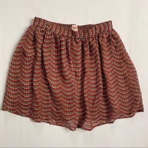 Mossimo Supply polka dot skirt